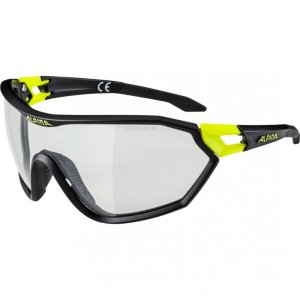 ALPINA S-WAY VL+, black matt-neon yellow, VARIOFLEX+ black, cat. 1-3